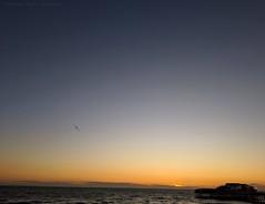 Sunset in Blackpool North Pier (dksesha) Tags: seshadri dhanakoti harita samvatsara googlepixel3xl googlepixel pixel3 pixel3xl blackpool pier sea england coast sunset golden goldenhour sesh seshfamily haritasya vikaari vikaarisamvatsara google pixel tilottama lancashire northpier irishsea beach water sun hour
