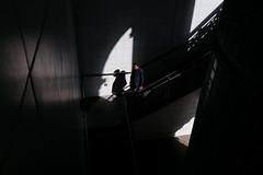 Shadowed (DonStevie) Tags: 25mm voigtlander25mmf4snapshotskopar wideangle walking west stairs shadowed graphic graphicstreetphotography graphicstreetshot man m mmount kertesz leica london light highcontrast angles rangefinder people perspective prime interesting street streetphotography stranger streetshooting streetphotog streetphotographylondon shadow donstevie don darkness decisivemoment dark