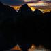 Sunset in Yangshuo.