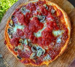 The pizza I made today (petartrajkov) Tags: