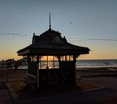 Golden light through a window (dksesha) Tags: seshadri dhanakoti harita samvatsara googlepixel3xl googlepixel pixel3 pixel3xl blackpool pier sea england coast sunset golden goldenhour sesh seshfamily haritasya vikaari vikaarisamvatsara google pixel tilottama lancashire northpier irishsea beach water sun hour