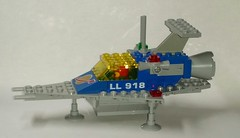 LL 918 Scaled Down (Constender) Tags: lego moc classic space spaceship ll918 ll 918