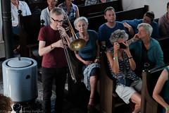 Bone Chrusher - Den Ham (15 van 20) (Maarten Kerkhof) Tags: bonecrusher denham fujifilmxe2 liveonstage matthiasmüller trombone zomerjazzfietstour2019 xe2