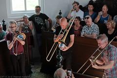 Bone Chrusher - Den Ham (9 van 20) (Maarten Kerkhof) Tags: bonecrusher denham fujifilmxe2 jebbishop liveonstage matthiasmuche matthiasmüller trombone zomerjazzfietstour2019 xe2