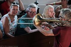 Bone Chrusher - Den Ham (8 van 20) (Maarten Kerkhof) Tags: bonecrusher denham fujifilmxe2 liveonstage matthiasmüller trombone zomerjazzfietstour2019 xe2