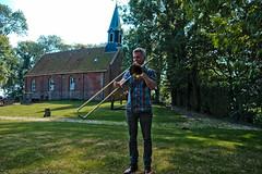Bone Chrusher - Den Ham (1 van 20) (Maarten Kerkhof) Tags: bonecrusher denham fujifilmxe2 jebbishop liveonstage trombone zomerjazzfietstour2019 xe2