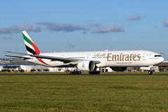 A6-EGP Emirates Boeing 777-31H(ER) at Edinburgh Turnhouse Airport on 12 June 2019 (Zone 49 Photography) Tags: aircraft airliner aeroplane june 2019 edinburgh scotland egph edi turnhouse airport ek uae emirates boeing 777 773 300 31h er a6egp