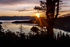 clipping the tree (jimmy_racoon) Tags: 70200 f4l is canon 5d mk2 eagle falls emerald bay lake tahoe 2019 landscape rays solar sun 70200f4lis canon5dmk2 eaglefalls emeraldbay laketahoe