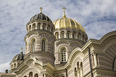 Catedral Ortodoxa de Riga (kinojam) Tags: riga latvia cathedral orthodox tower building church kino kinojam canon canon6d