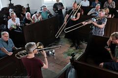 Bone Chrusher - Den Ham (18 van 20) (Maarten Kerkhof) Tags: bonecrusher denham fujifilmxe2 jebbishop liveonstage matthiasmuche matthiasmüller trombone zomerjazzfietstour2019 xe2