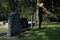 Bone Chrusher - Den Ham (3 van 20) (Maarten Kerkhof) Tags: bonecrusher denham fujifilmxe2 liveonstage matthiasmuche trombone zomerjazzfietstour2019 xe2