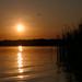 Sunset at the White Lake / Закат на Белом озере