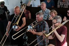 Bone Chrusher - Den Ham (20 van 20) (Maarten Kerkhof) Tags: bonecrusher denham fujifilmxe2 jebbishop liveonstage matthiasmuche matthiasmüller trombone zomerjazzfietstour2019 xe2