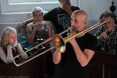 Bone Chrusher - Den Ham (4 van 20) (Maarten Kerkhof) Tags: bonecrusher denham fujifilmxe2 liveonstage matthiasmuche trombone zomerjazzfietstour2019 xe2