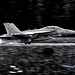 A Most Monochrome Look at a VAQ-129 EA-18G Touching on OLF