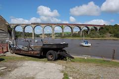 47802 St Germans Viaduct 1Z82. 01/09/19 (mattcareyphotography) Tags: wcrc west coast railway class 47 47802 st germans 1z82 bristol temple meads par viaduct royal duchy