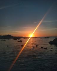 Winter Sunset (perla.pereira.galvez) Tags: sunset atardecer ocean mar oceanopacifico pacificocean chile northernchile