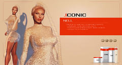 ICONIC_NELL_BANNER_FL (Neveah Niu /The ICONIC Owner) Tags: tlc hair braid ponytail styler mesh 3dmesh 3dart zbrush blender photoshop nell secondlife mini ethnic gaming sim gold cyber