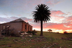A Brief Moment in A Long History (Darren Schiller) Tags: australia abandoned building clouds cottage derelict disused decaying deserted dilapidated empty evening eudunda farmhouse history heritage house midnorthsouthaustralia old palm sunset rural rustic rusty ruin tree southaustralia