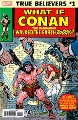 True Believers - What if Conan the Barbarian Walked the Earth Today? (FranMoff) Tags: redhead marvel comicbooks cornered conan marvelcomics whatif conanthebarbarian