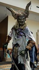 Horned Warrior (Kelson) Tags: lbcc lbcc2019 longbeachcomiccon cosplay horns orc warrior fantasy