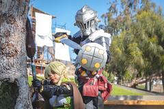 IMG_0143 (nero_32) Tags: anime park elf arrow warrior arica attack cosplay goblinslayer