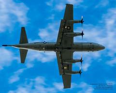 Looking Up at an Overflying P-3C Orion (AvgeekJoe) Tags: d5300 dslr lockheedorion lockheedp3 lockheedp3orion lockheedp3c lockheedp3corion maritimepatrol navalaviation nikon nikond5300 orion p3 p3orion p3c p3corion usnavy usn aircraft airplane aviation plane underbelly warplane