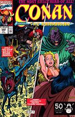 Conan 249 (FranMoff) Tags: marvel comicbooks redsonja conan arthuradams adams marvelcomics conanthebarbarian thugrakhotan zula