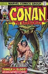 Conan 43 (FranMoff) Tags: marvel comicbooks redsonja cornered conan marvelcomics conanthebarbarian towerofblood
