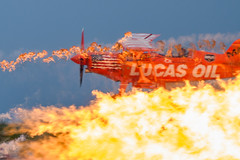 Feeling the Heat (Eric Tischler) Tags: shockwave jet truck ohio cleveland national airshow lucas oil pitts mike wiskus flames fire daredevil stunt
