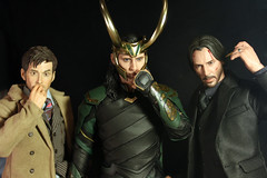 Nasty Habits (Doctor Beef) Tags: thedoctor doctorwho davidtennant bigchiefstudios loki lokilaufeyson thorragnarok tomhiddleston johnwick keanureeves hottoys toy actionfigure 16 weeklythemesongtitle nastyhabits oingoboingo