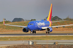 Southwest B737-76N (N7846A) - LGB (jebzphoto) Tags: airlines airline airliner airliners airplane airplanes aviation aircraft plane planes planespotting flight los angeles international airport airports klax lax commercial southwest boeing 737