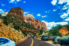 Highway 9--DSC00548--Zion Nat'l Park (Lance & Cromwell back from a Road Trip) Tags: utah zionnationalpark roadtrip 2019 highway9 washingtoncounty sony 24240mm 24240mmlens emount