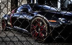 Audiliscious! (Paul B0udreau) Tags: nikkor1855mm photoshop canada ontario paulboudreauphotography niagara d5100 nikon nikond5100 raw layer black audi fence red r8 explore