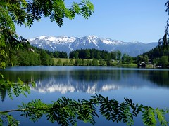 Gleinkersee / Lake Gleinkersee (ursula.valtiner) Tags: landschaft landscape berge mountains schnee snow see lake gleinkersee rosleithen oberösterreich upperaustria austria autriche österreich greatphotographers