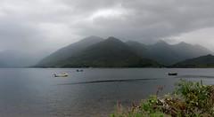 A rainy evening (Lense23) Tags: highlands scotland schottland landscape landschaft mountains berge see lake loch