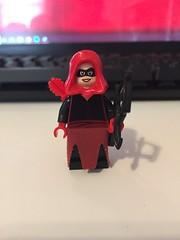 DC's Red Arrow (Emiko Queen) (Numbuh1Nerd) Tags: lego purist custom dc superheroes minifigures comics green arrow teen titans komodo shado outsiders justice league america jla robin rebirth 30381 3626cpb2119 4498 973pb3519 981 982 983 25508 970c00