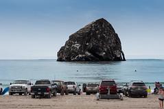 Haystack Rock (danialficek1) Tags: d5000 nikon haystack rock pacificcity oregon beach ocean pacificocean laborday