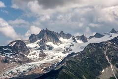 Tour du Mont-Blanc (Panasonikon) Tags: panasonikon sonyrx100m4 landschaft landscape alpen alps gebirge mountain wolken clouds gletscher eis schnee snow explore