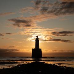 Sunrise (PeskyMesky) Tags: rattrayhead lighthouse aberdeenshire scotland sunrise sunset landscape longexposure silhouette sea sky canon canon5d eos