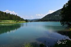 Lago di Coredo - Italy (Biagio ( Ricordi )) Tags: coredo italy lake lago valdinon trentino nuvole acqua natura montagna