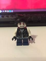 DC's Slobo (Numbuh1Nerd) Tags: lego purist custom dc superheroes minifigures comics lobo main man last czarnian top fraggin teen frag young justice 53981 3626bpb0459 973pb0467 981 982 983 41879