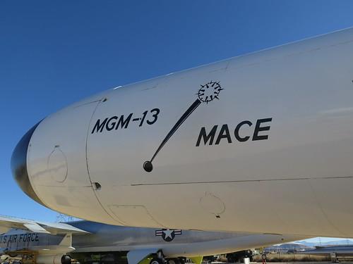 CGM-13 Mace Nuclear Cruise Missile