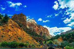 Highway 9--DSC00545--Zion Nat'l Park (Lance & Cromwell back from a Road Trip) Tags: utah zionnationalpark roadtrip 2019 highway9 washingtoncounty sony 24240mm 24240mmlens emount