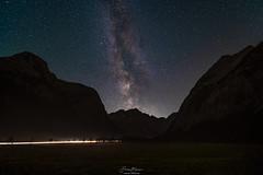 Milkyway Season ending.... (F!o) Tags: milchstrase karwendel ahornboden milkyway stars night nightscape tirol berge mountains alpen alps astro astrophotography xt3 fuji omegon lx3 tracker tracked astrotracker laowa 9mm 28