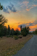 A #sunset at the #city #park in #Skopje, North #Macedonia (petartrajkov) Tags: sunset city park skopje macedonia
