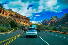 Highway 9--DSC00544--Zion Nat'l Park, Utah (Lance & Cromwell back from a Road Trip) Tags: utah zionnationalpark roadtrip 2019 highway9 washingtoncounty sony 24240mm 24240mmlens emount