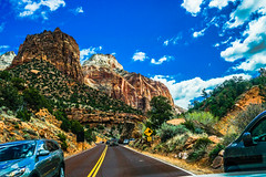 Highway 9--DSC00549--Zion Nat'l Park (Lance & Cromwell back from a Road Trip) Tags: utah zionnationalpark roadtrip 2019 highway9 washingtoncounty sony 24240mm 24240mmlens emount