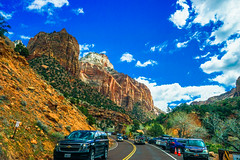 Highway 9--DSC00546--Zion Nat'l Park (Lance & Cromwell back from a Road Trip) Tags: utah zionnationalpark roadtrip 2019 highway9 washingtoncounty sony 24240mm 24240mmlens emount