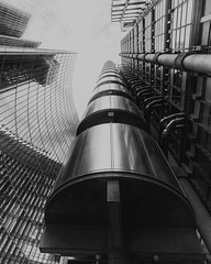 The most difficult building in the world to photograph? (Andrew G Robertson) Tags: lloyds london architecture scifi future modern contempary city finance
